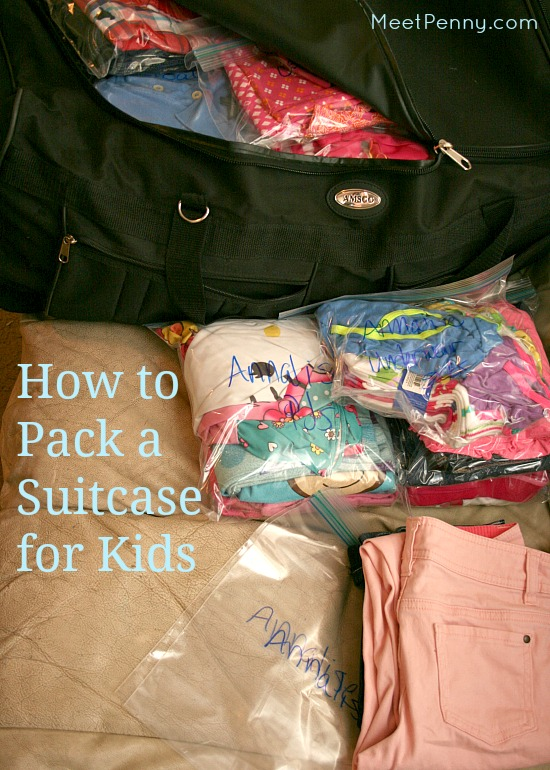 How to Pack a Suitcase for Kids Made Easy