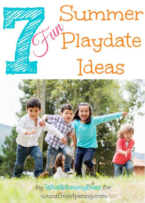 Click for fun summer playdate ideas.