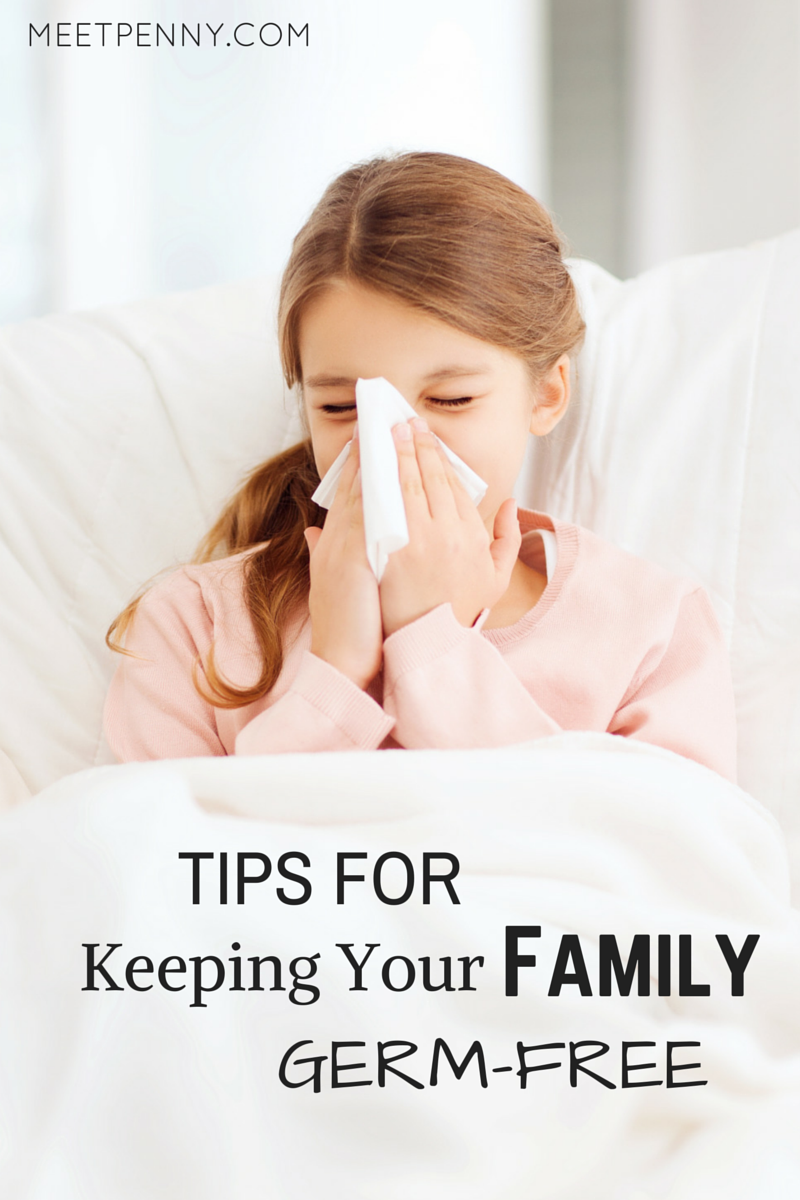 Great list of ways to keep the family germ-free.