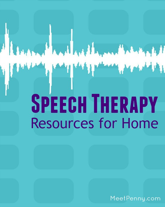 Speech Therapy Resources for Home
