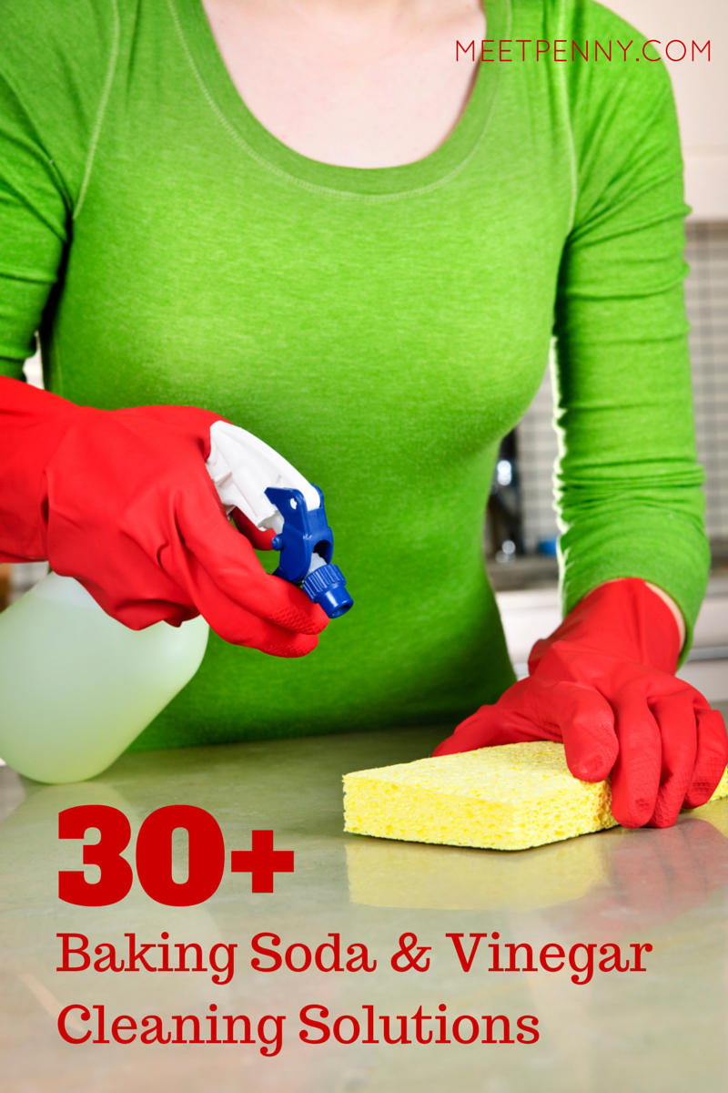 30 Ways To Use For Baking Soda And Vinegar For Cleaning