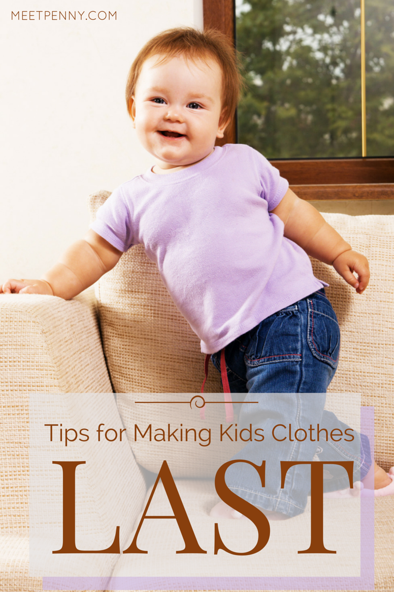 Tips for Making Kids Clothes Last Longer