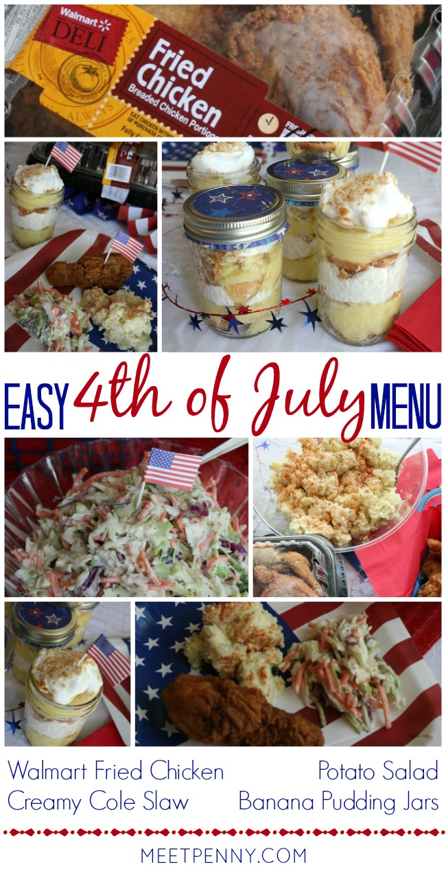 4th of July Menu with Creamy Coleslaw Dressing