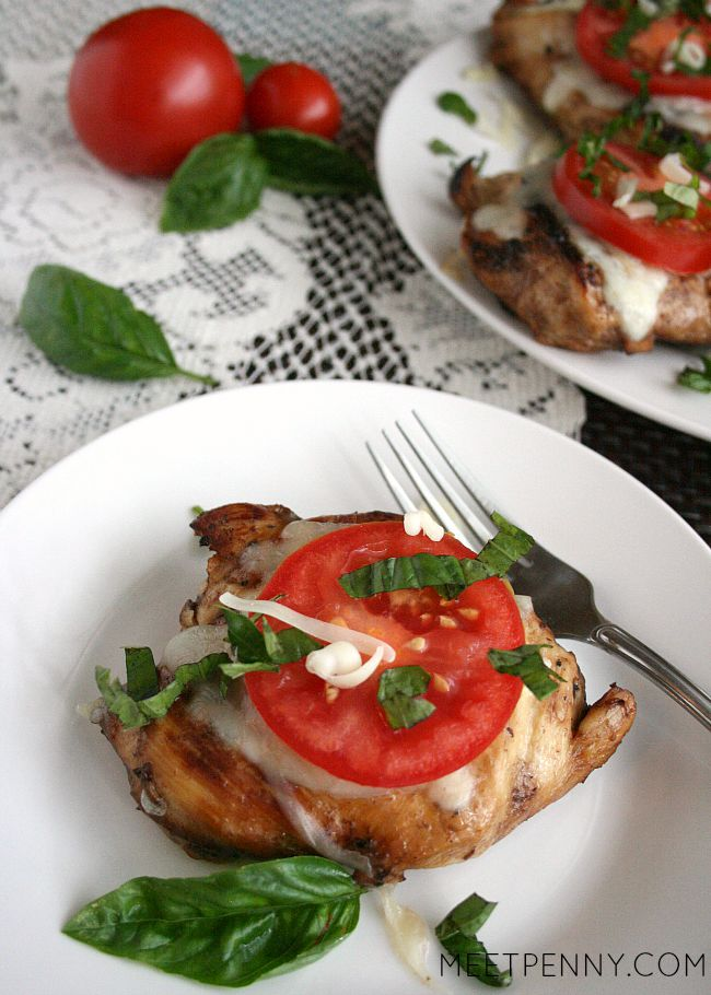 Grilled Chicken Caprese with Weekend Potluck 182