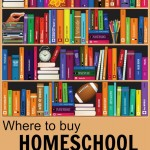 Love this! A long list (grade by grade) of where to buy homeschool curriculum. This is the ultimate resource for homeschool families!