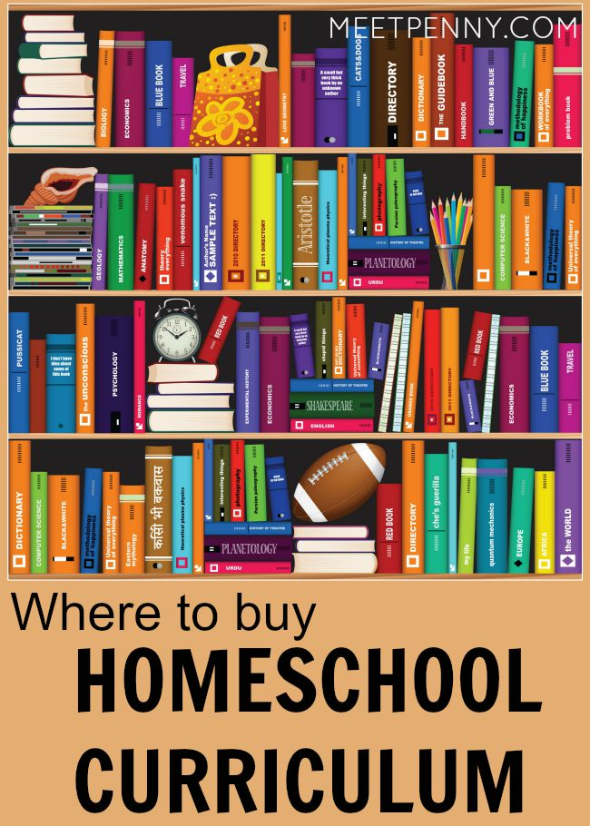 Where to Find Homeschool Curriculum