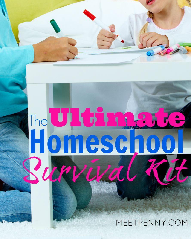 The Ultimate Homeschool Survival Kit