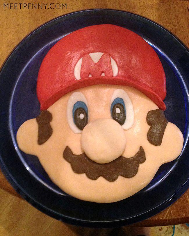 How to Make a Super Mario Cake