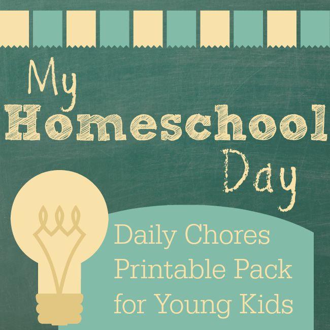 My Homeschool Day Printable Pack