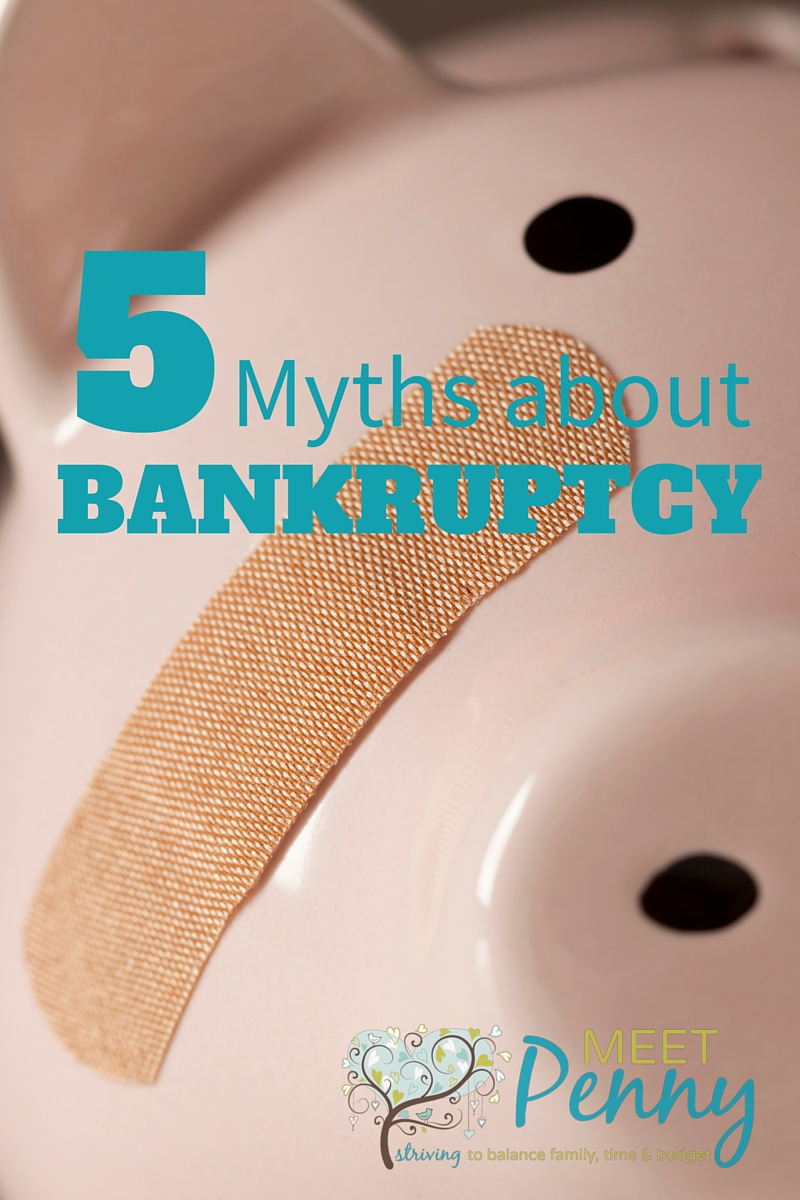 5 Myths about Bankruptcy and the Truth from Someone who Survived Chapter 13