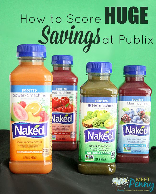 Snack Healthy with Savings at Publix
