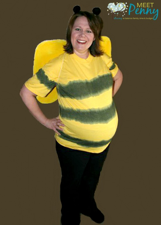 Very cute and EASY costume ideas for pregnant women. Even has an idea for a  sc 1 st  Meet Penny & Creative Costumes for Pregnant Women - Meet Penny