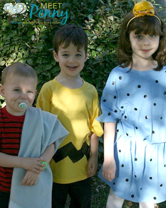 Peanuts Characters Costumes for the Family