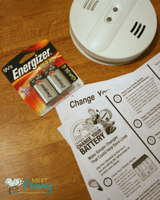 If it is time to change your clocks, it is also time to change the batteries in your smoke detector and to teach your children a lesson on fire safety. Includes a fire safety printable pack and step-by-step fire safety lesson plan. #ad #ChangeYourClock