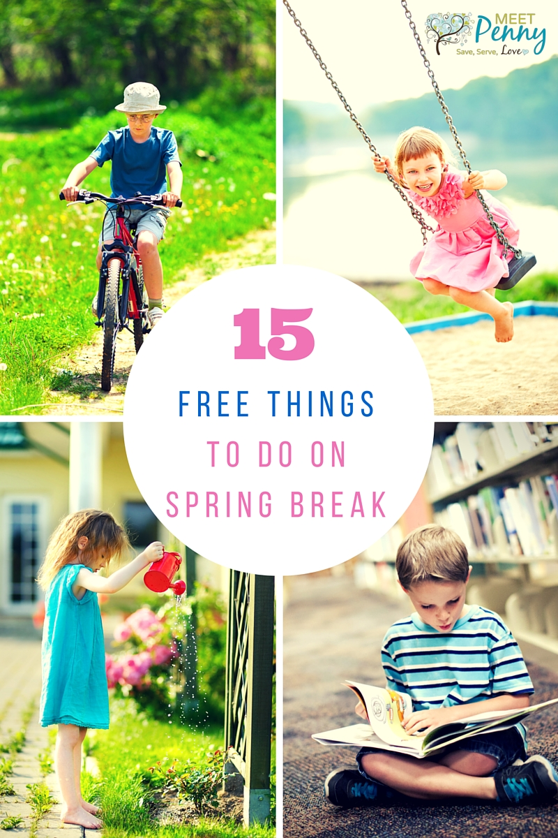 Great ideas for spending less and doing more. Spring Break activities that the family will love.