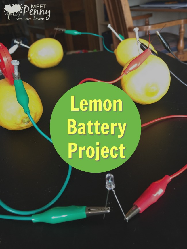 Lemon Battery Science Experiment: A Green Works StemBox Project