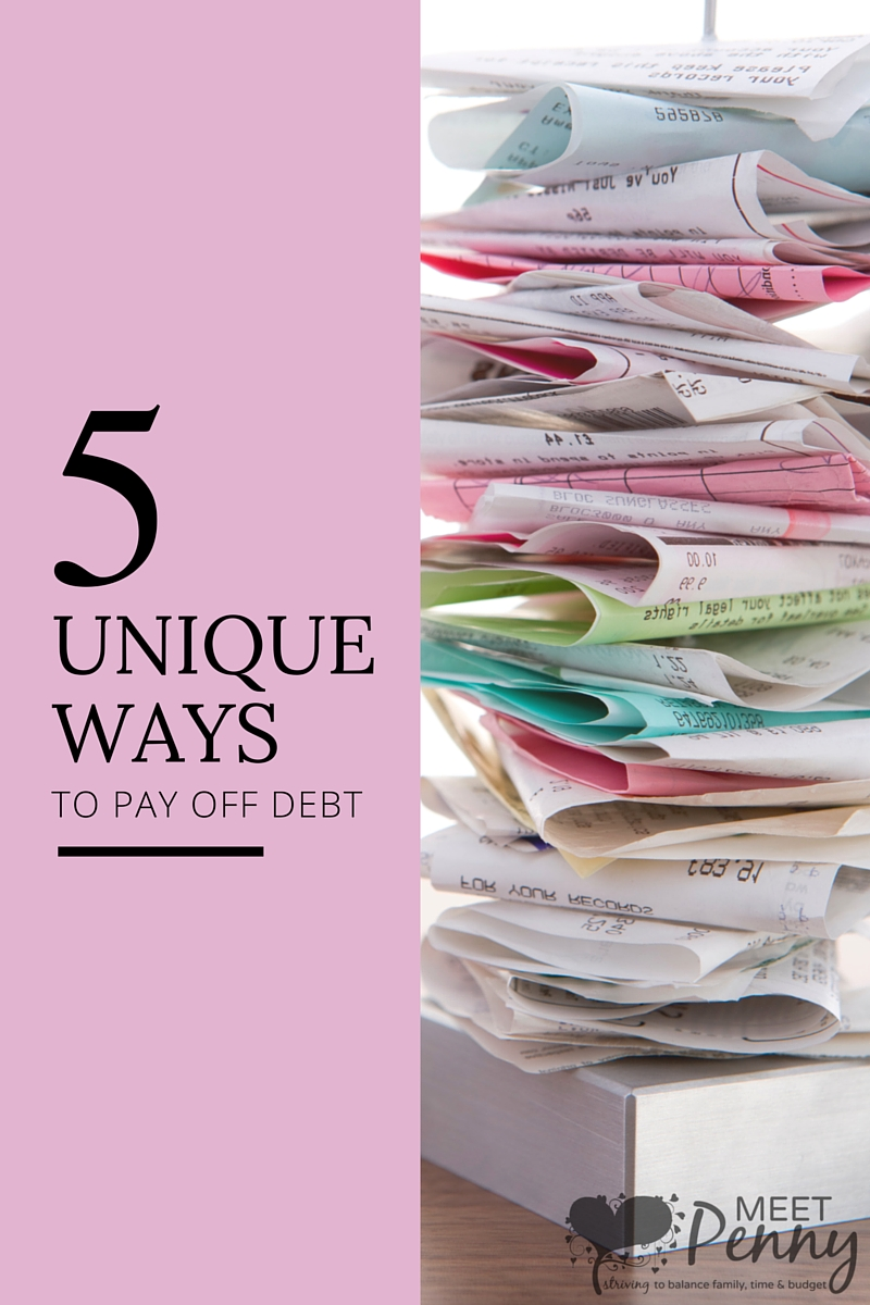 5 Unique Ways To Pay Off Debt You Haven't Thought Of Before