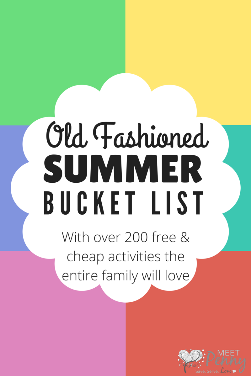 Summer Bucket List: Free & Cheap Boredom Busters
