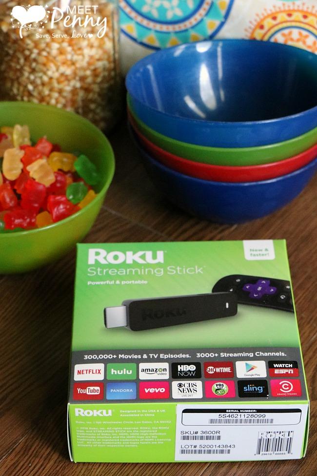 Ultimate Family Movie Night with Roku Streaming Stick
