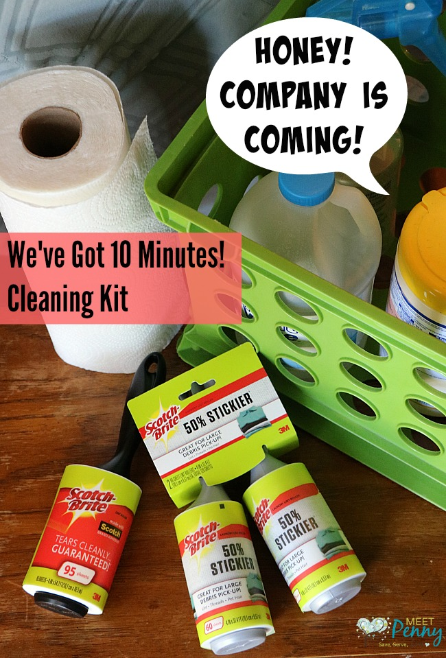 "The 10-Minute ""Company's Coming"" Cleaning Kit"