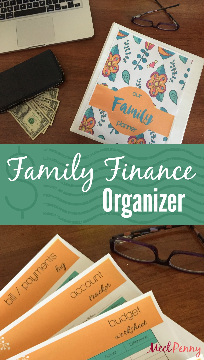 Free Family Finance Binder Printables
