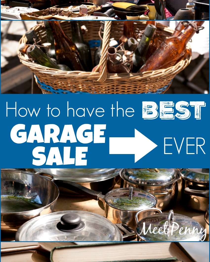 The BEST Garage Sale Tips Ever