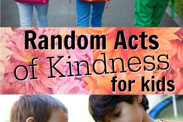 Random Acts of Kindness Week Ideas for Kids