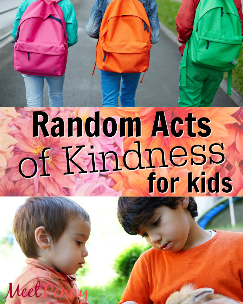 Random Acts of Kindness Ideas for Kids