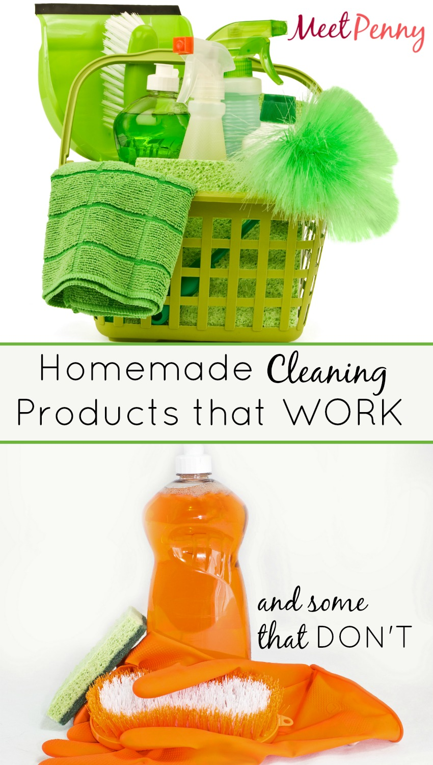 Homemade Cleaning Products that Work (and some that don't)