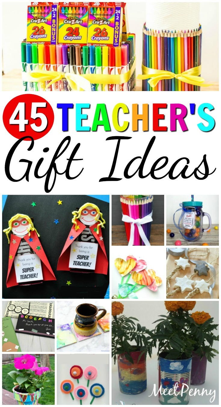 45 DIY Teacher's Gift Ideas