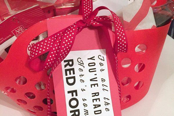 Red Teacher's Appreciation Gift Idea