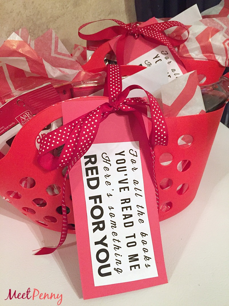Red Teacher's Appreciation Gift Idea