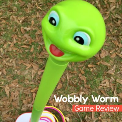 A fun and unique game for children, ages 3 and up. Wobbly Worm by Spin Master.