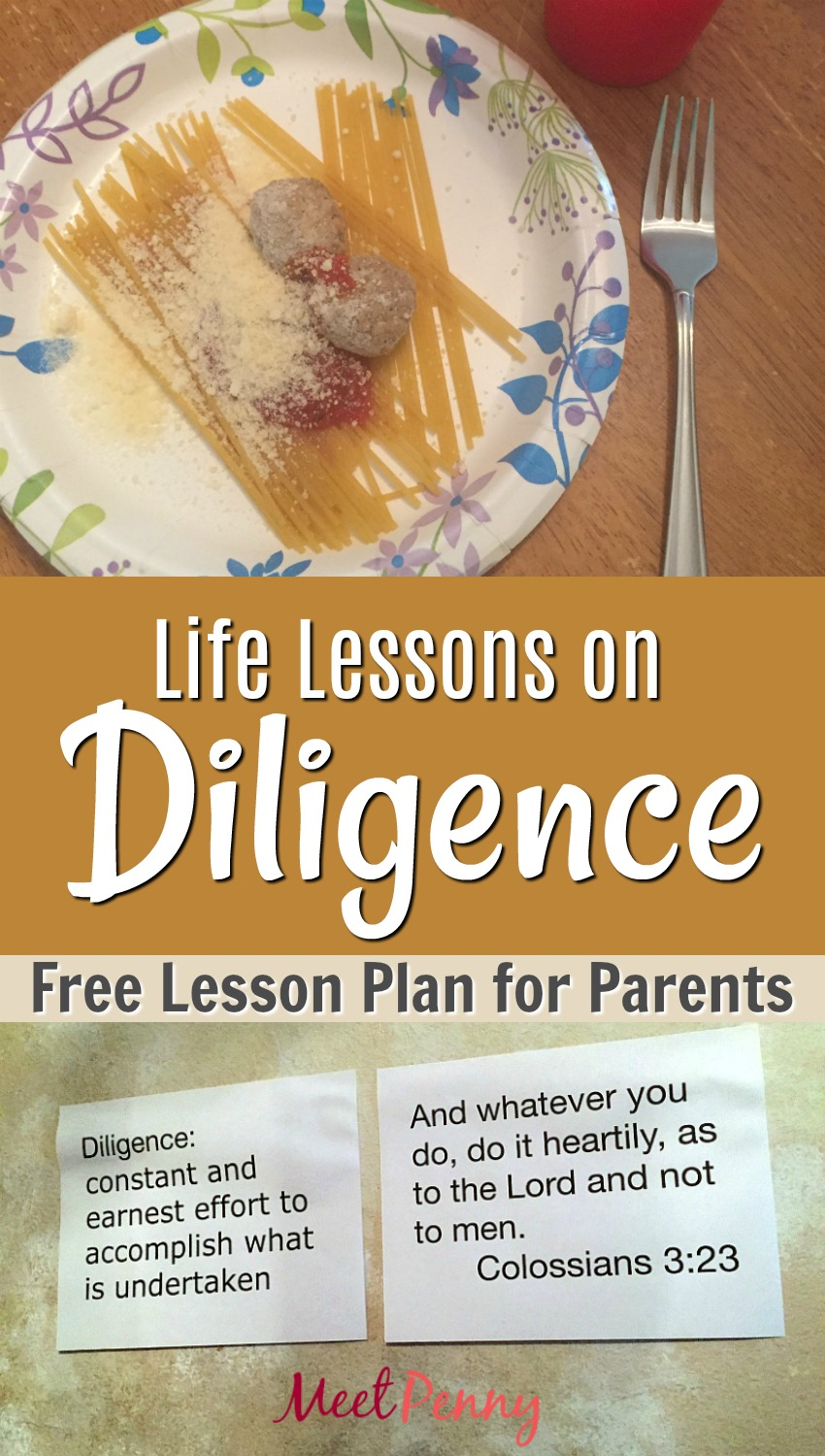 Teaching Children About Diligence