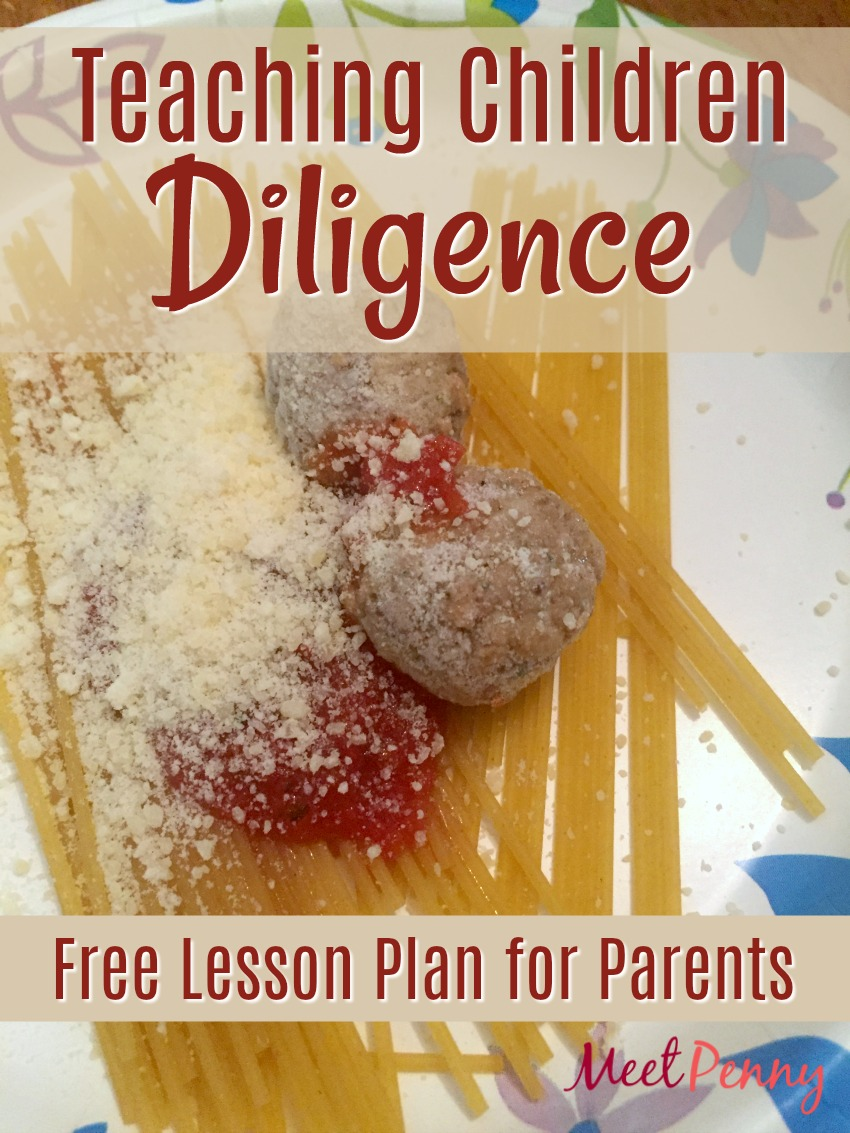 You will not believe what this mom did to teach her children to be more diligent. Includes a free lesson plan.