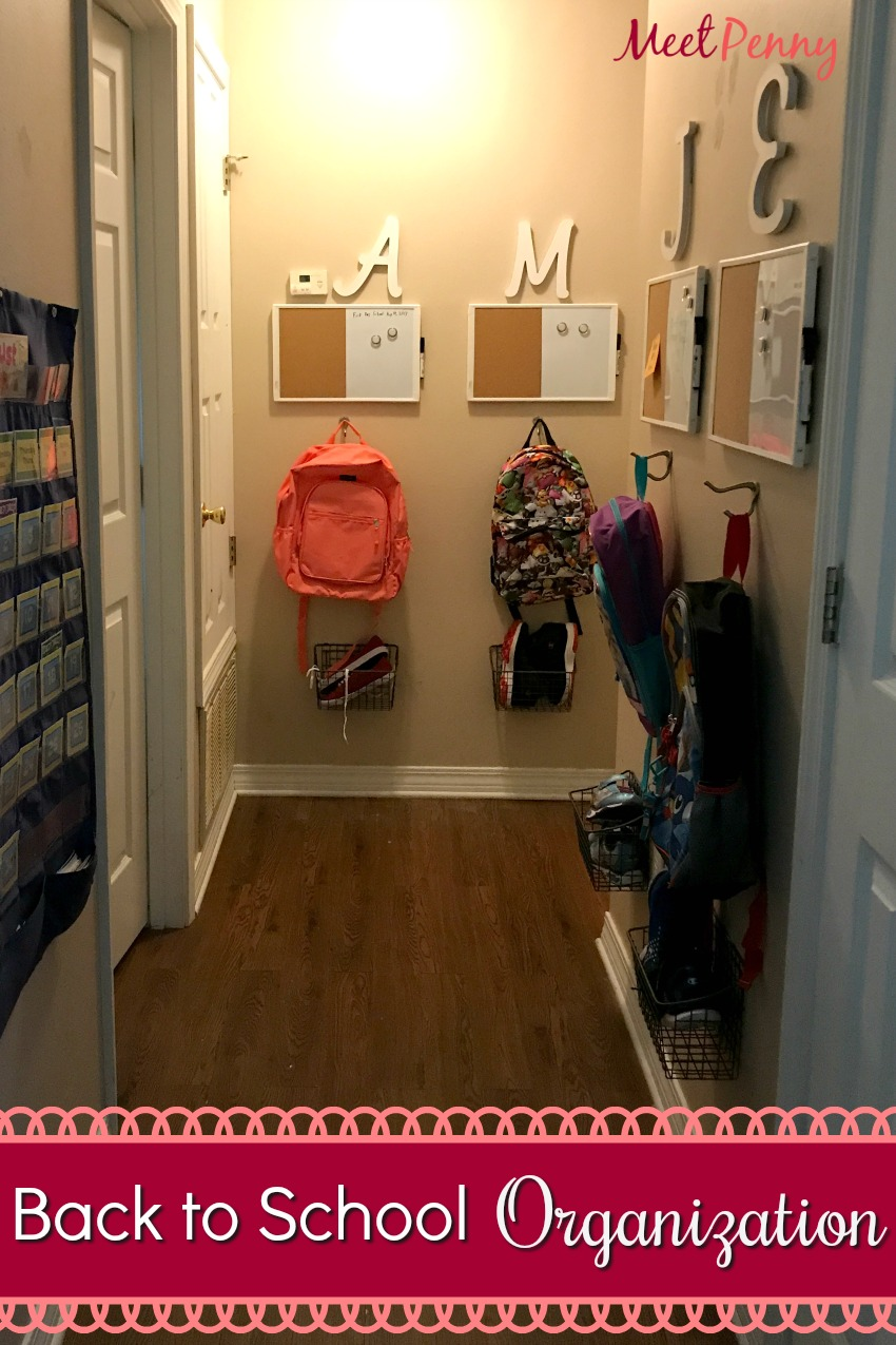 Back to School Organization Hack