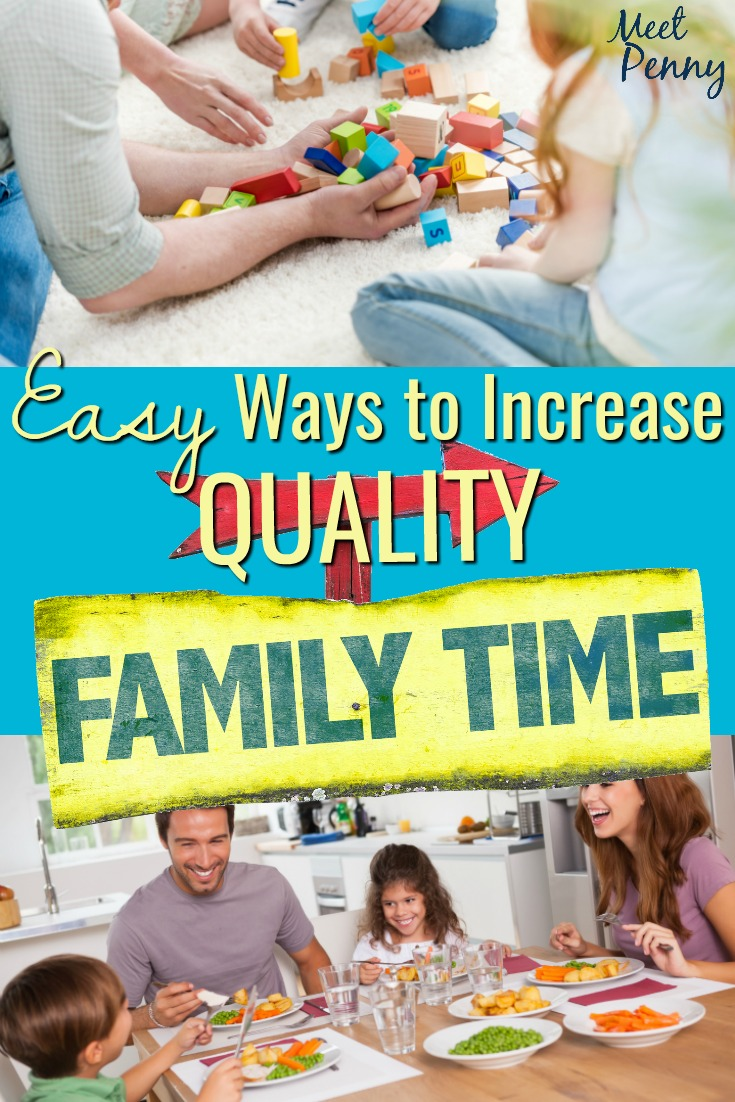How do you fit quality family time into a crazy schedule? You adore your children and want to spend more time with your family. Are there easy ways to squeeze more meaningful moments into your day?