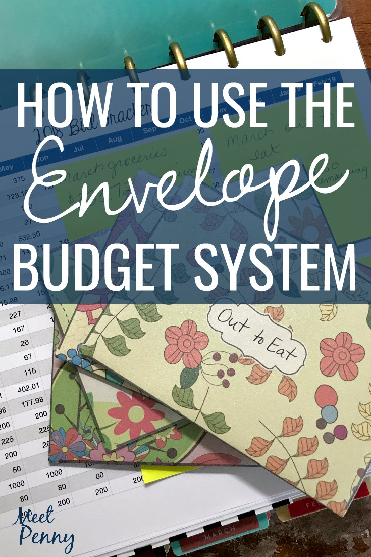 Using the envelope budget system is an inexpensive way to make your money last longer. Wondering how the envelope system works? Here you go!