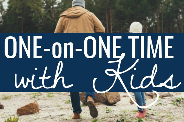 5 Practical Ways to Spend One-on-One Time with Each Child