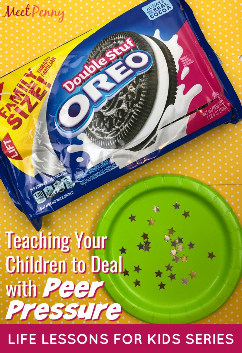 This peer pressure object lesson includes a guided hands-on activity for parents to use when teaching children how to deal with peer pressure.