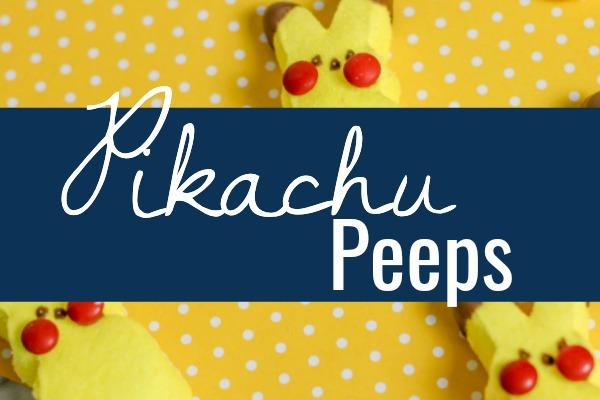 Detective Pikachu Peeps