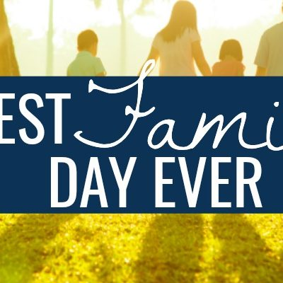 Do you want to spend more time together as a family? Here is how to have the best family day ever! Spending time with family is time well spent.