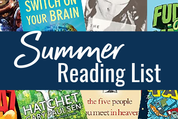 Summer Reading List for Kids 2020