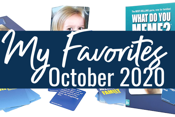 Cooler days and chilly nights? Please? These are my favorites from Amazon for October.