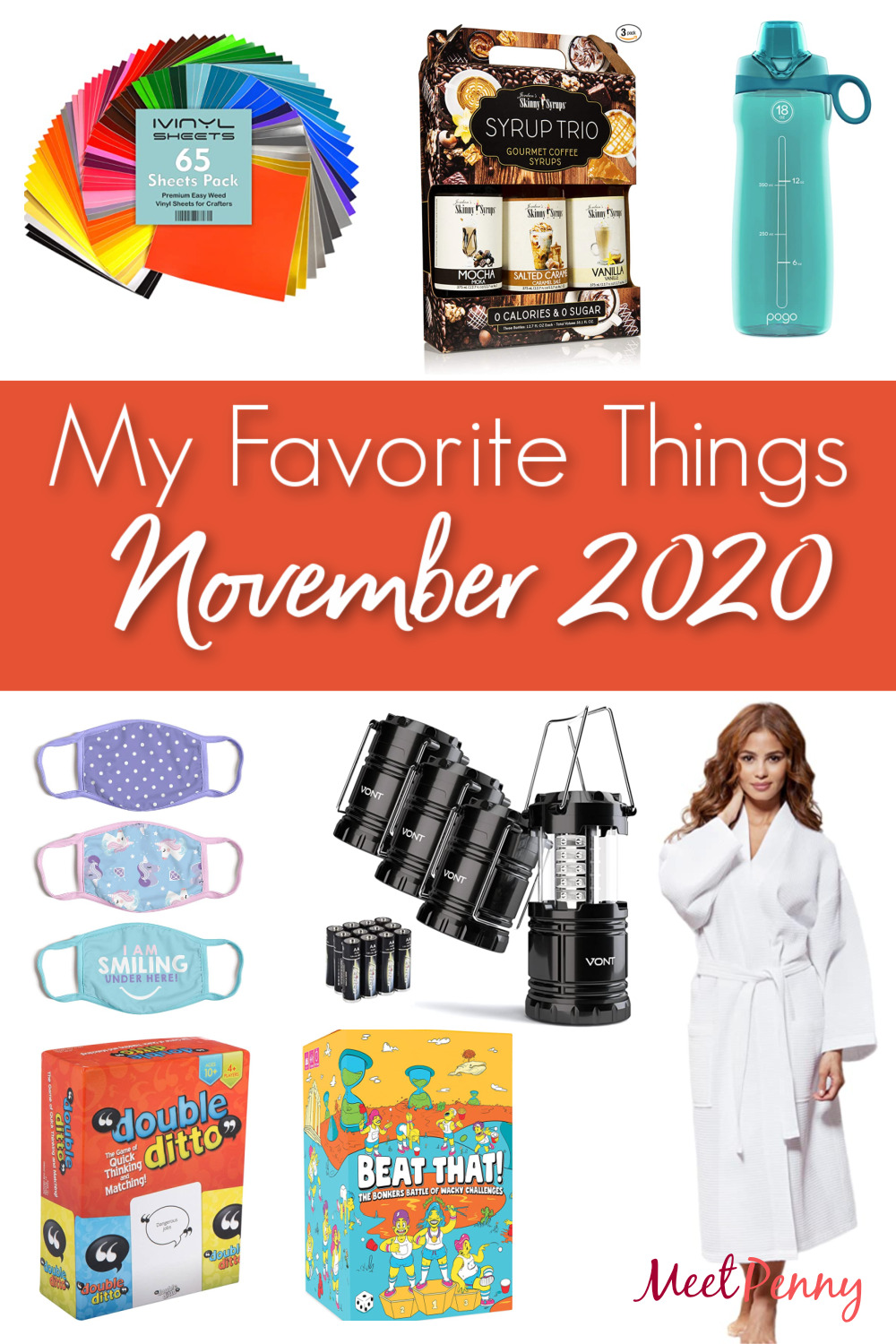 Great gift ideas and helpful items for families are among my favorite things for November.
