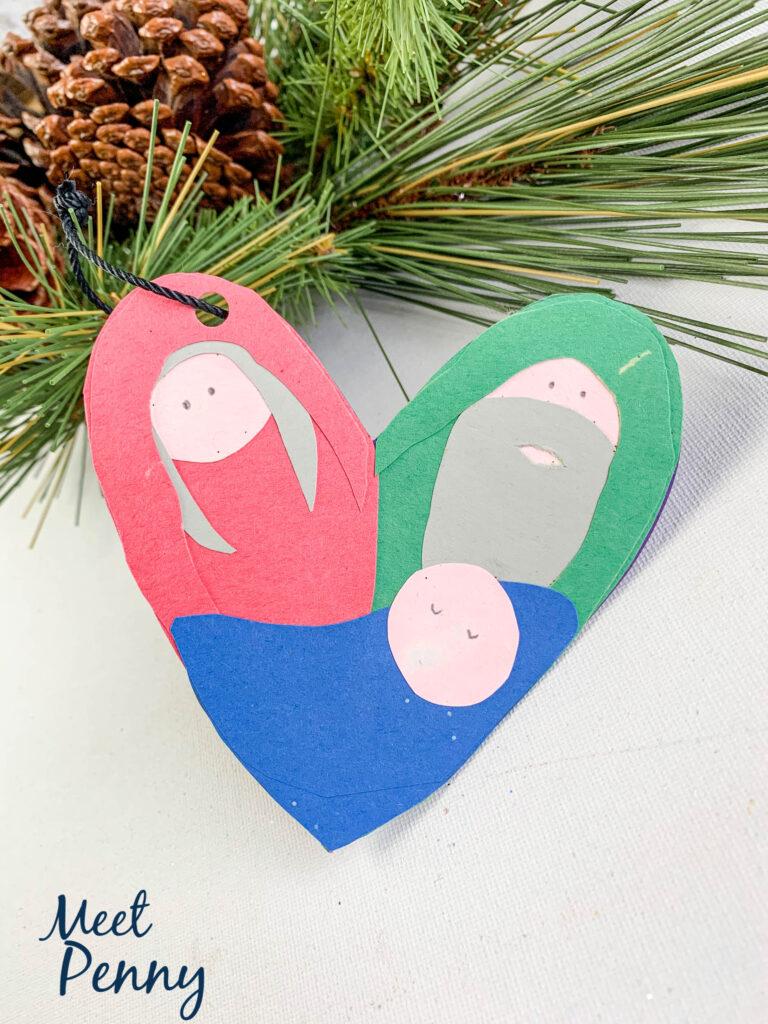 Zechariah and Elizabeth - Jesse Tree ornaments