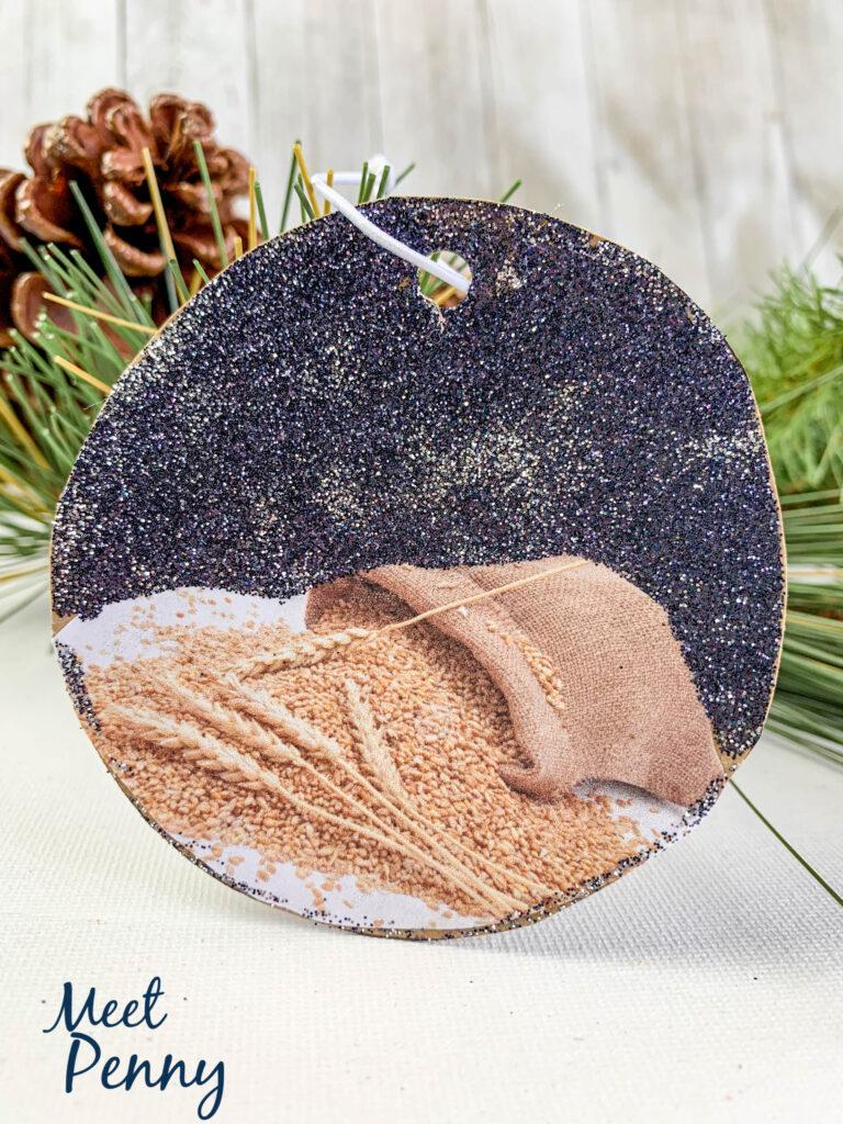 Ruth / Wheat - Jesse Tree ornaments