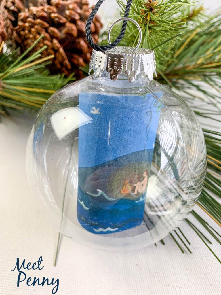 Jonah / Fish - Jesse Tree ornaments