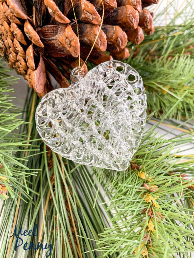 Mary's Heart - Jesse Tree Ornaments
