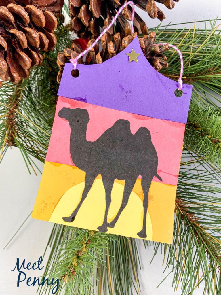 Abraham's tent / camels - Jesse Tree ornaments